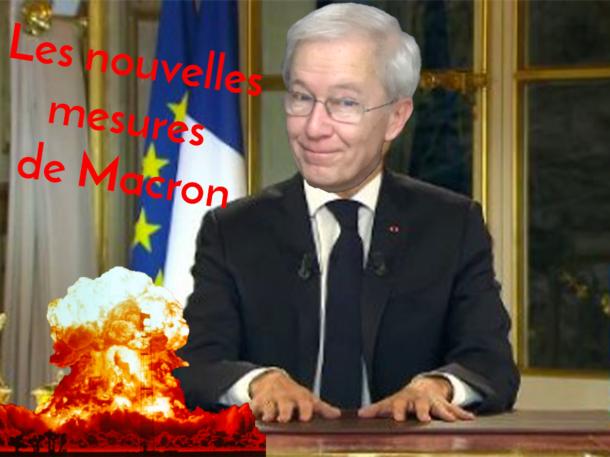 Nouvelle vidéo en ligne : les mesures d'Emmanuel Macron