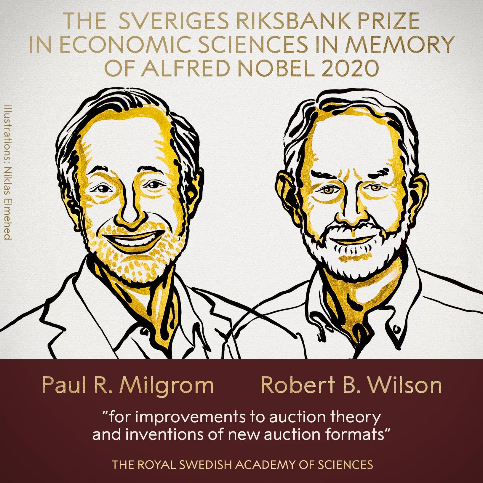 Un prix Nobel adjugé et vendu !