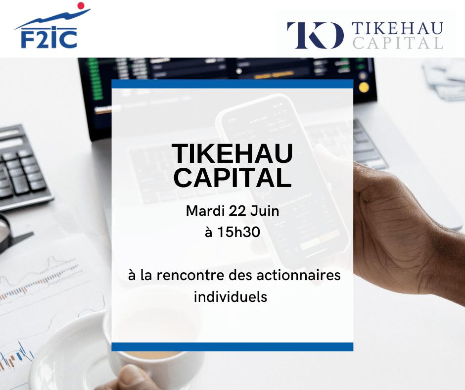 Tikehau Capital à la rencontre des actionnaires individuels