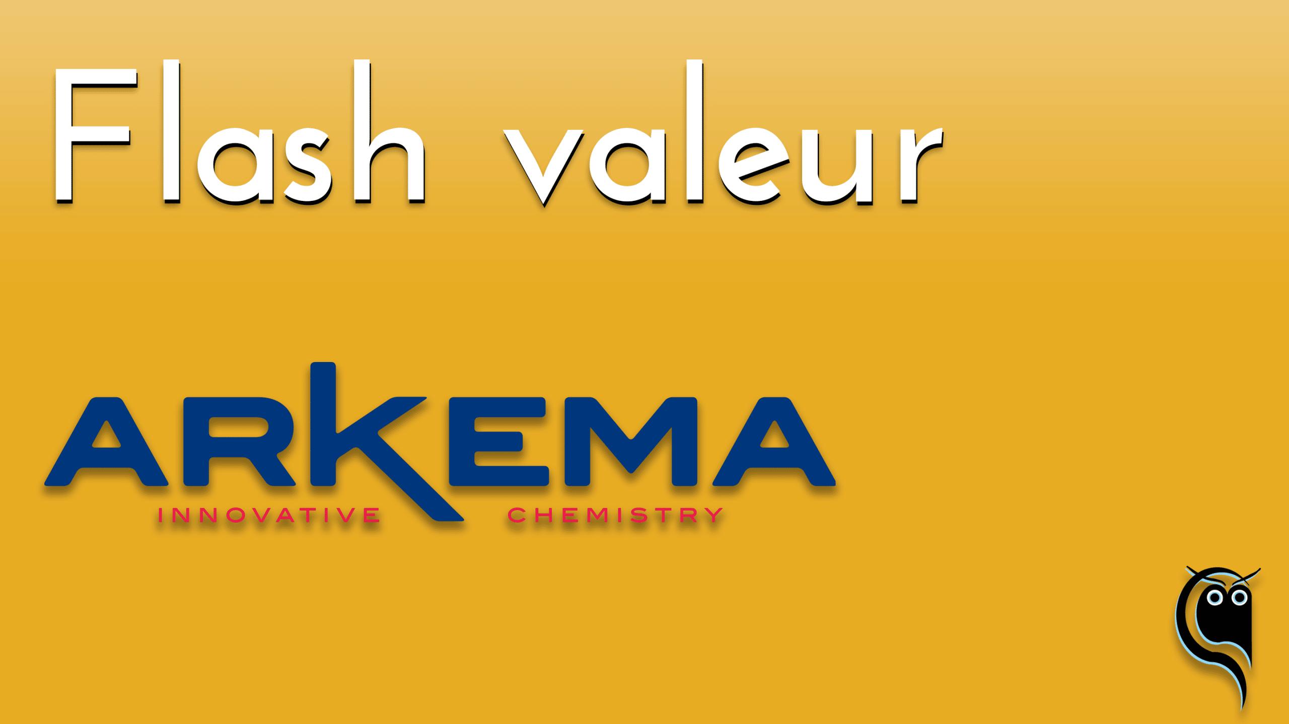 Flash Arkema - résultats 1er trimestre 2021
