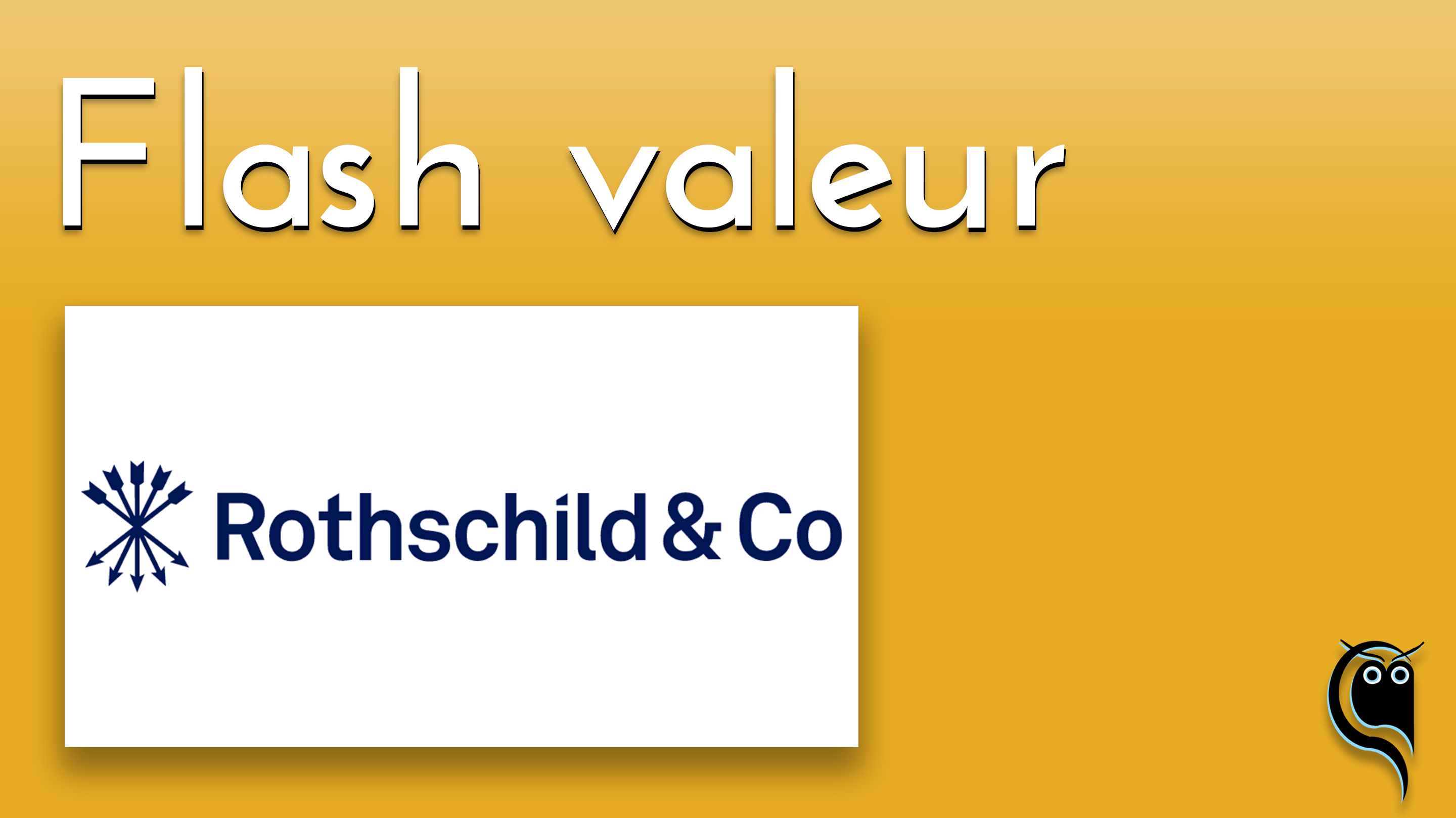 Flash Rothschild - résultats 1er trimestre 2021