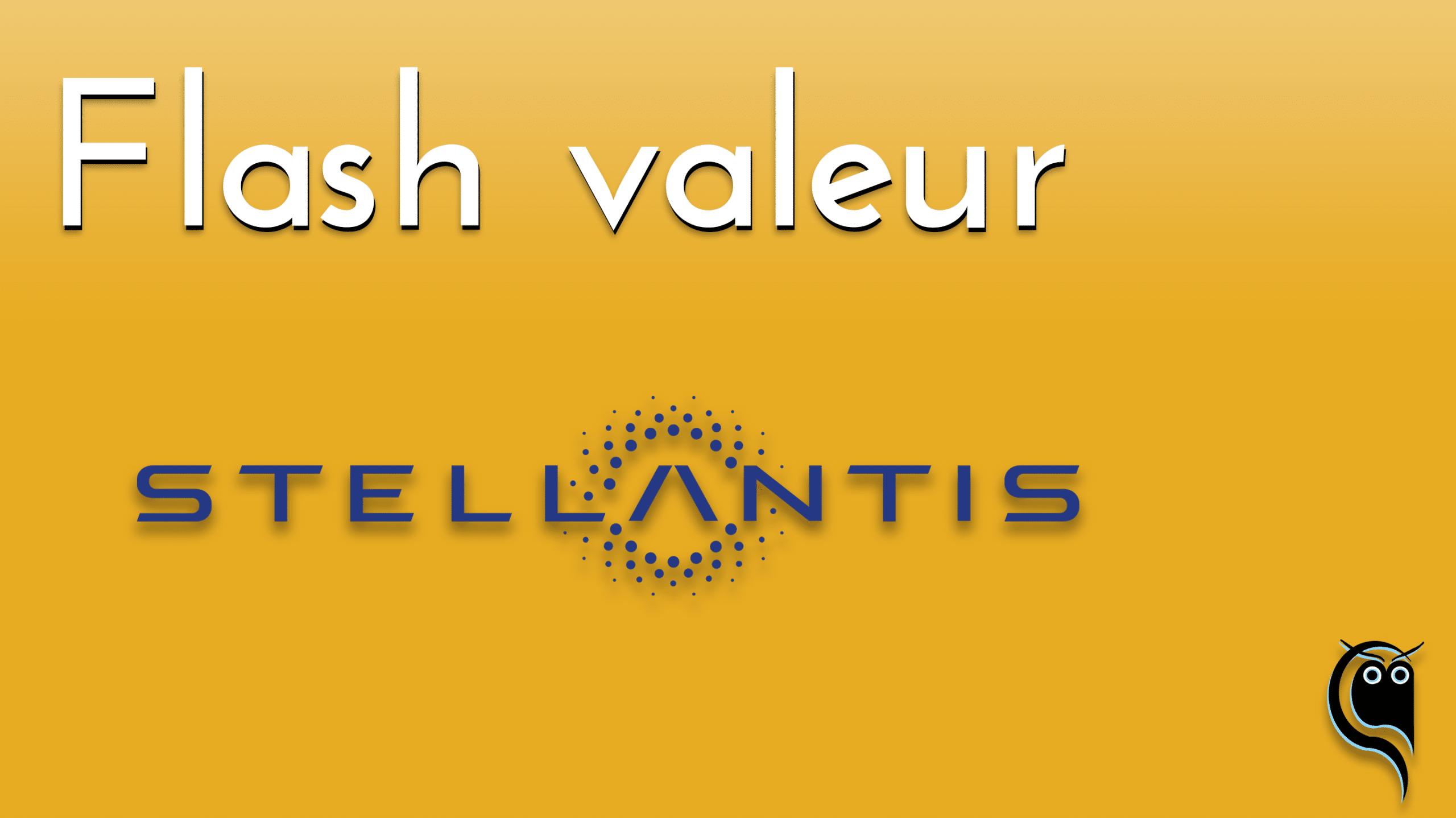 Flash Stellantis - résultats 1er trimestre 2021