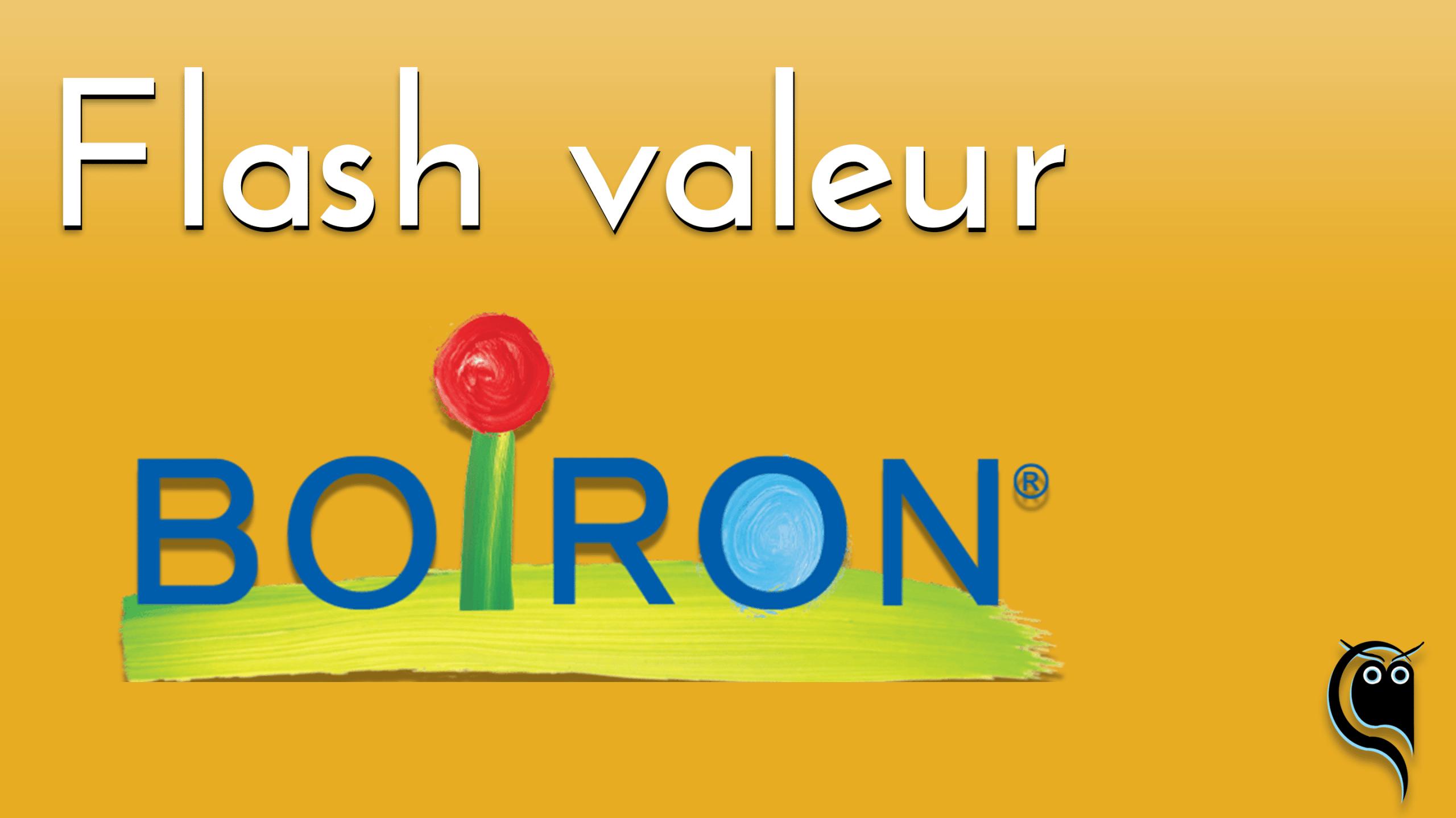 Flash Boiron : résultats 2e trimestre 2021