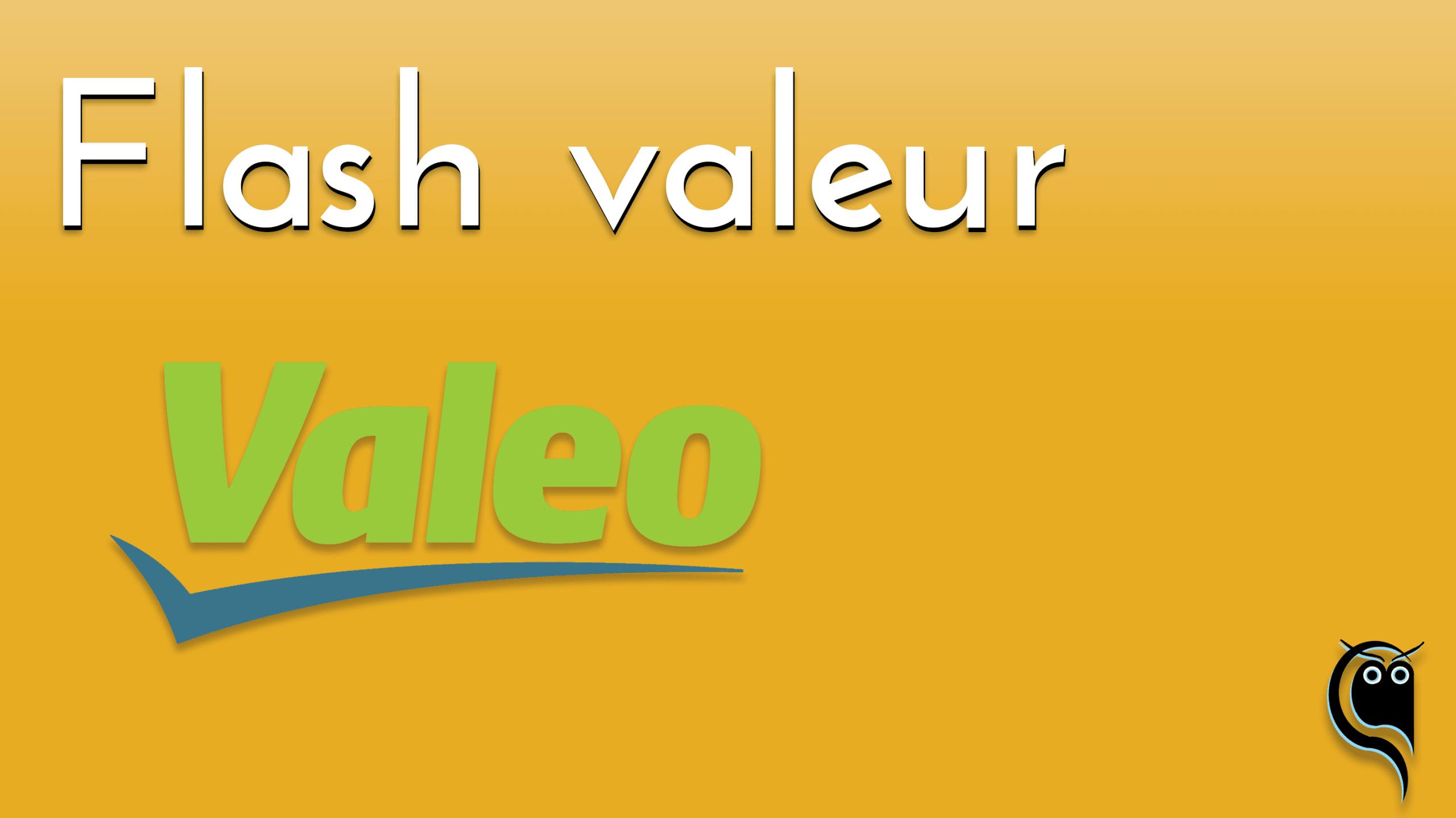 Flash Valeo : résultats 2e trimestre 2021