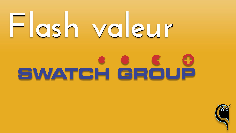 Flash Swatch Group : résultats 1er semestre 2021