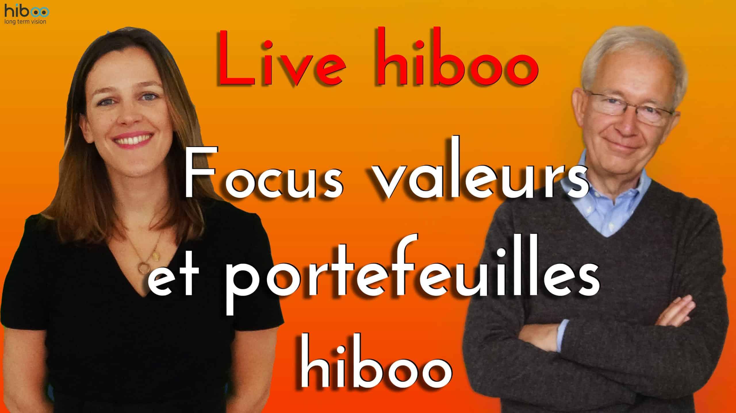 Live X focus valeurs et portefeuilles